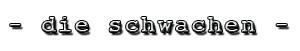 logo01.dieschwachen300m51px