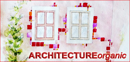 Wenn Sie hier klicken, öffnet sich die Seite 'ARCHITECTUREorganic'