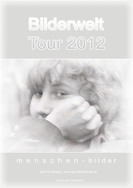 Plakat 44 - Bilderwelt-Tour 2012