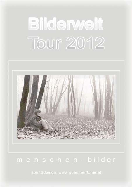 Plakat 40 - Bilderwelt-Tour 2012
