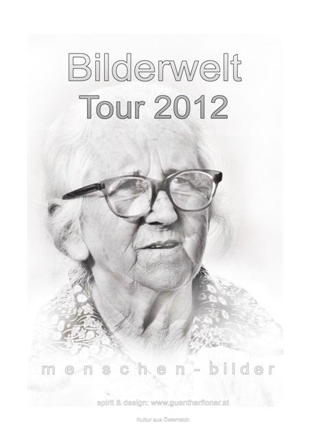 Plakat 03 - Bilderwelt-Tour 2012