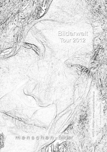 Plakat 19 - Bilderwelt-Tour 2012