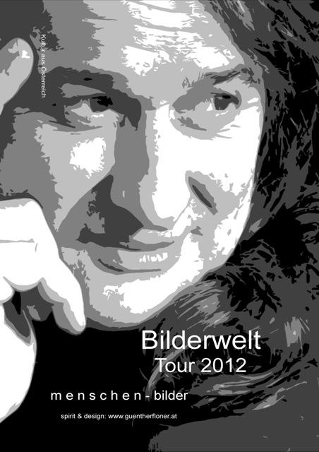 Plakat 14 - Bilderwelt-Tour 2012