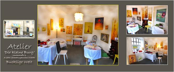 Ein kleiner Einblick in das Atelier von Günther Floner und Sabine Motsch