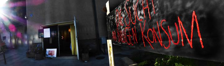 Kunstaktion 2016 - Kriegsvariationen
