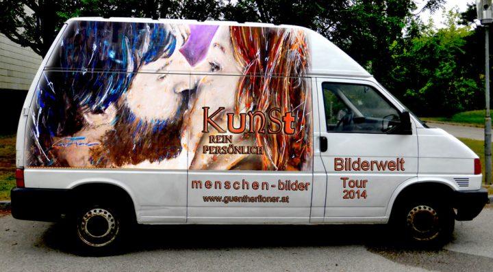 Die Fahrende Galerie - Bilderwelt-Tour 2014 (2)