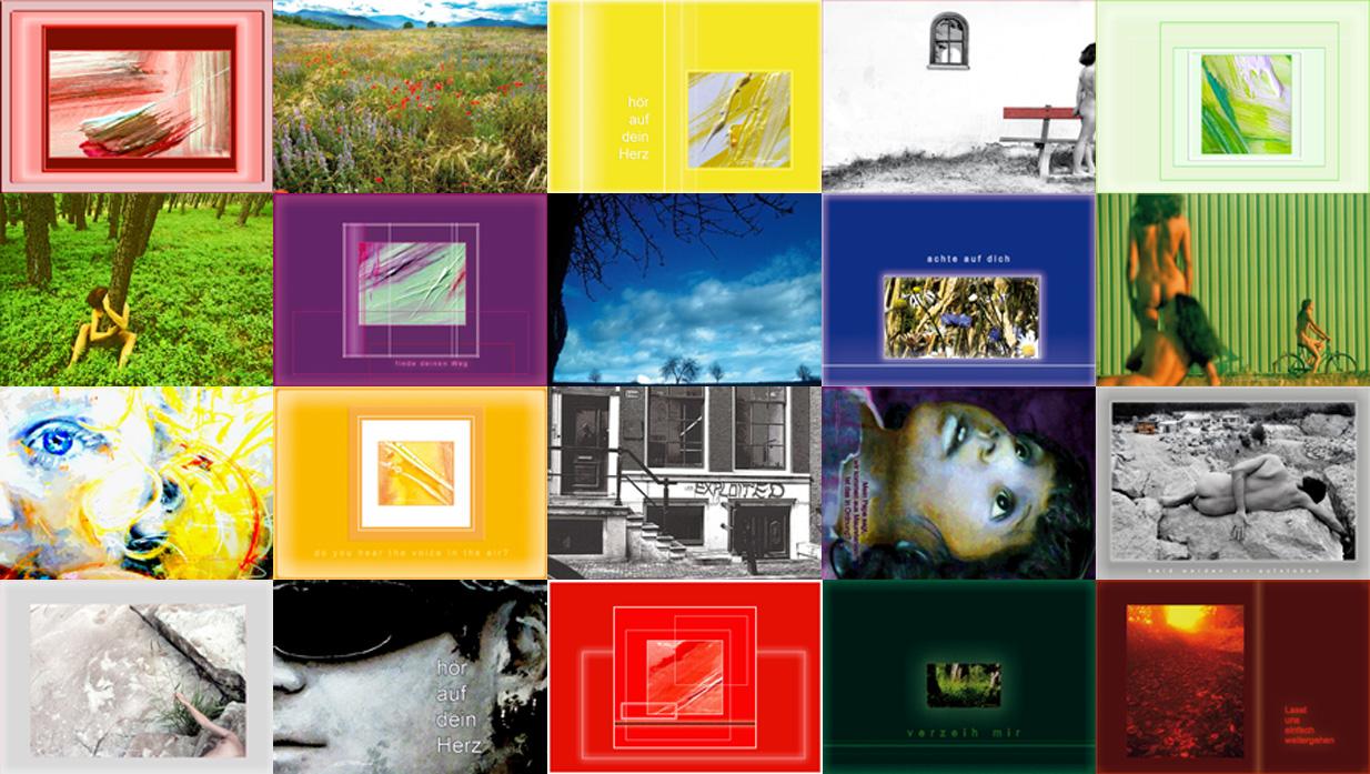 Kunstpostkarten 2012 - 20 Stück