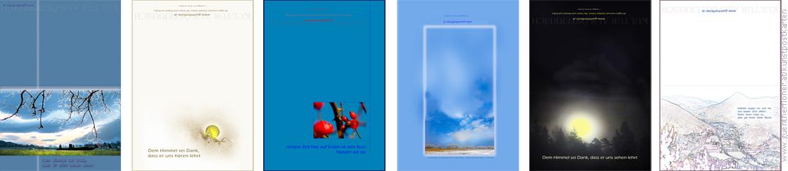 pictureline 01 - Kunstpostkarten von Günther Floner