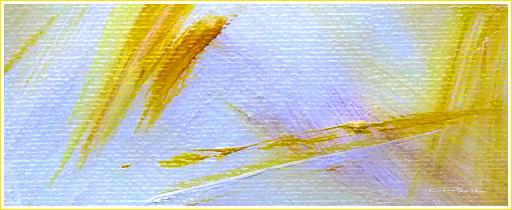 farbe und Licht - Gelb in weiß