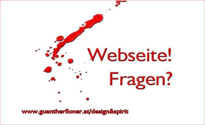 design und spirit - Webseite-Hilfe