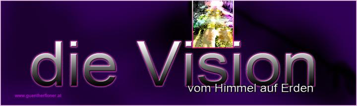 Die Vision vom Himmel auf Erden - pictureline 01 - violett