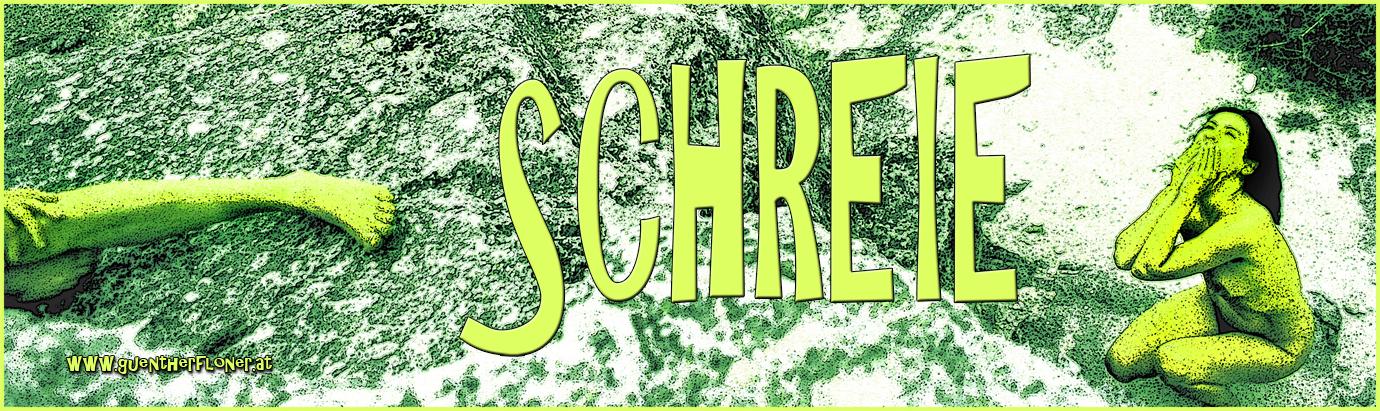 Schreie - pictureline 01 - Hände vor dem Mund